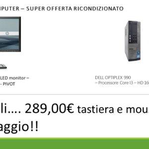 DELL OPTIPLEX 990 – MONITOR HP