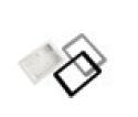 Kit di montaggio ad incasso per tastiere serie Elegant