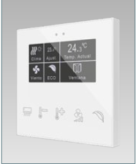 Room controller capacitivo FLAT custom