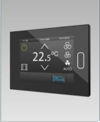 Room controller capacitivo Z40