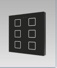 Tastiera multifunzione capacitiva, 6 tasti