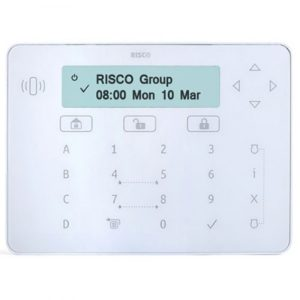 Tastiera touch ELEGANT Bianca per ProSYS™ Plus e LightSYS™2: