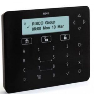 Tastiera touch ELEGANT Nera per ProSYS™ Plus e LightSYS™2