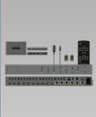 Matrice HDMI 8x6x2